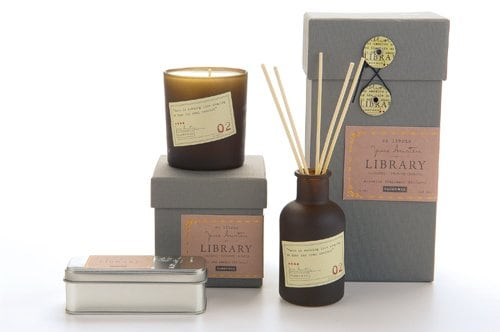 Jane austen candle Christmas Gifts for Book Lovers