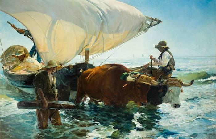 The Return from Fishing – Joaquin Sorolla, 1894