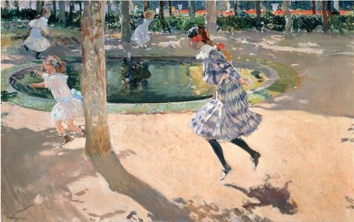 The Skipping Rope – Joaquín Sorolla, 1907