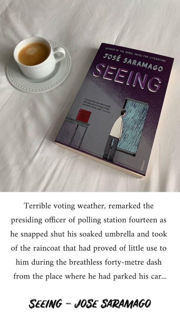 Seeing - Jose Saramago