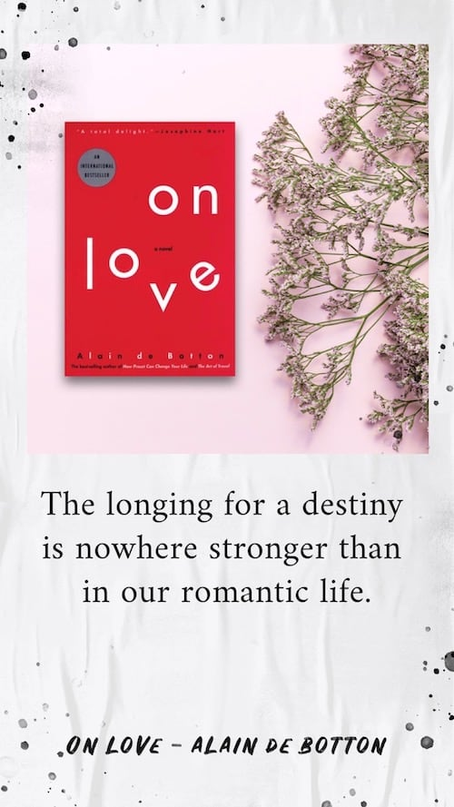 On Love - Alain de Botton