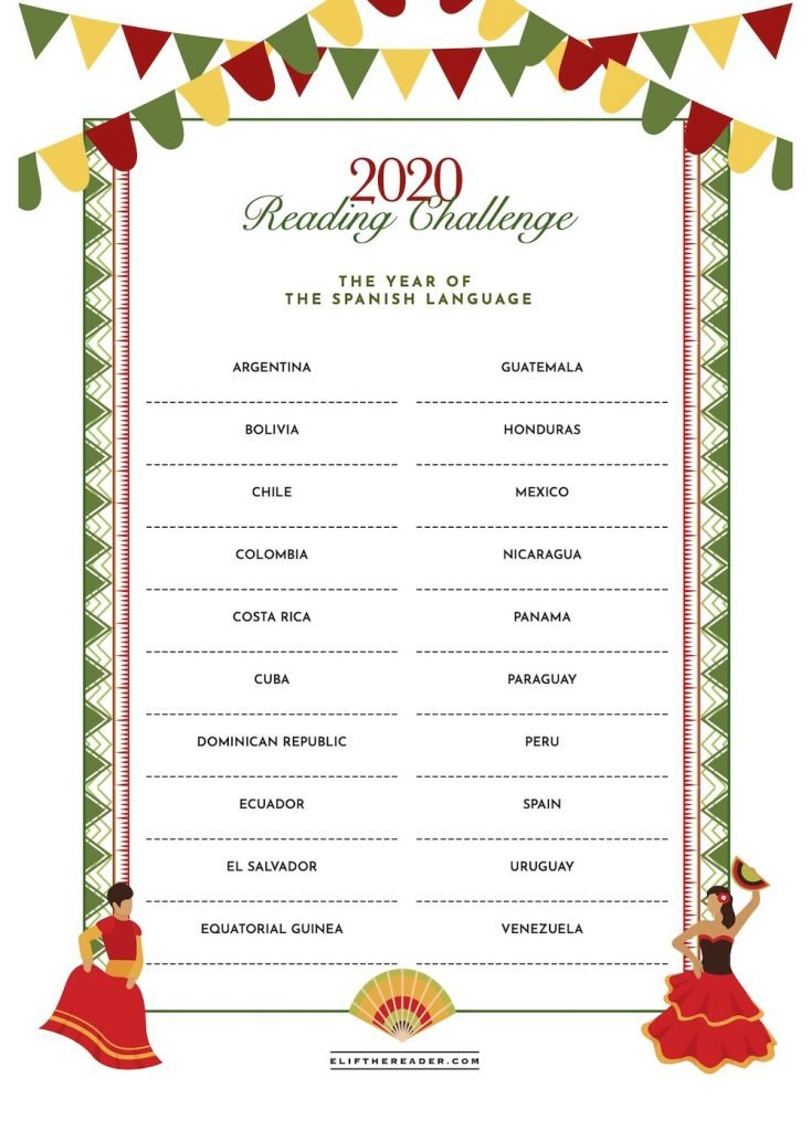 Reading Challenge 2020 - Spanish Language