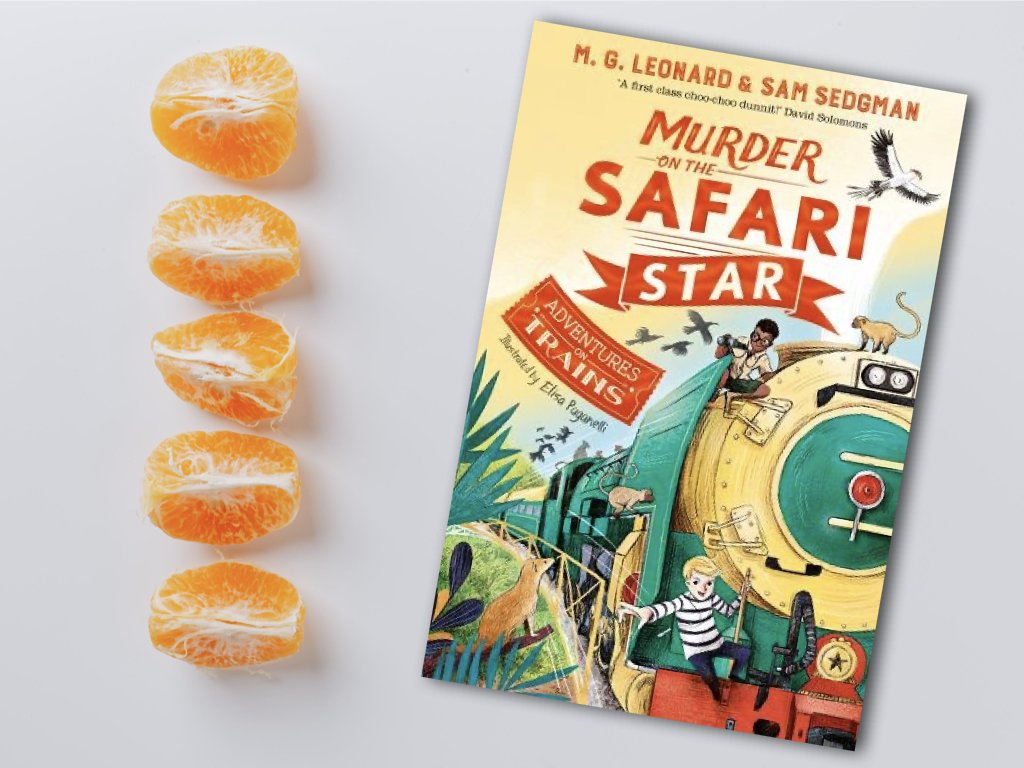 Murder on the Safari Star - M. G. Leonard