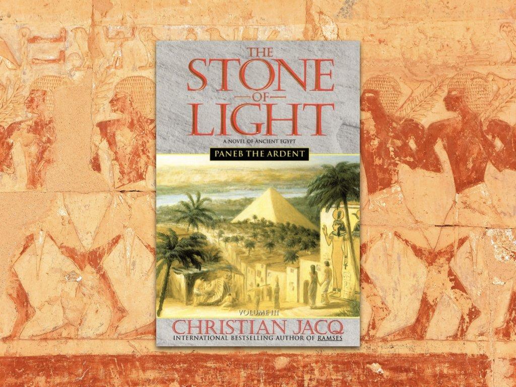 Paneb the Ardent stone of light