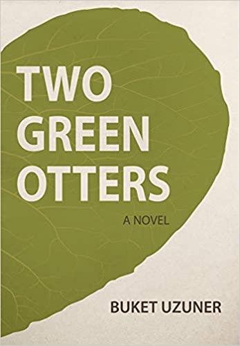 Two Green Otters - Buket Uzuner